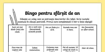 Bingo - Ultima zi de școală