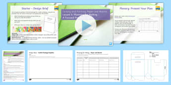 Manufacturing Processes and Techniques - Joining and Forming Paper and Boards L5: Planning for Making Lesson Pack - Key Stage 4 Design & technologydesign processGCSE design & technologydesign projectiterative designp