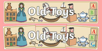 Old Toys Display Banner - old toys, display, banner, toys, old
