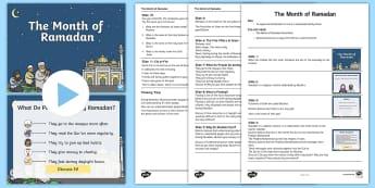 KS1 The Month of Ramadan Assembly Pack - Ramadan, Eid, Eid-ul-fitr, Eid ul fitr, muslim, islam, qur'an, assembly, ks1, key stage one, key s