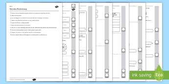 Teste deine Bruchrechnung Arbeitsblatt - fractions, year 4, maths, Mathematik, Bruchrechnung,
