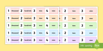 Number Expanders - Number Expanders Resources, place value, - Number Expanders - Number Expanders Resources