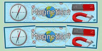 Magnetism Display Banner - magnetism, display banner, display, banner, science