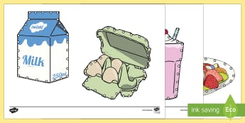 Food and Drink Threading Cut-Outs - threading cards, fine motor skills, activities, junior infants, senior infants, early years, foundat
