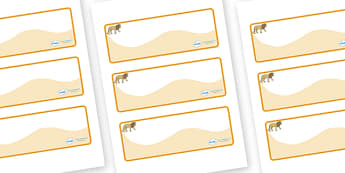 Lion Themed Editable Drawer-Peg-Name Labels (Colourful) - Themed Classroom Label Templates, Resource Labels, Name Labels, Editable Labels, Drawer Labels, Coat Peg Labels, Peg Label, KS1 Labels, Foundation Labels, Foundation Stage Labels, Teaching Lab