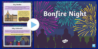 All About Bonfire Night PowerPoint - bonfire night, information powerpoint, powerpoint, bonfire night powerpoint, presentation, themed powerpoint