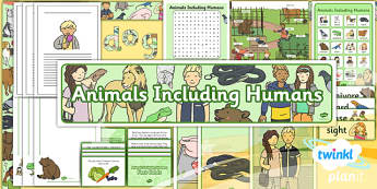 PlanIt - Science Year 1 - Animals Including Humans Unit Additional Resources
