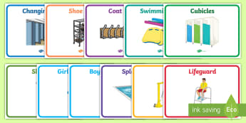Splash Pool Primary Signs and Labels - SEN Resources, Special Educational Needs, Special School, Hydrotherapy, Physiotherapy, Splash Pool,