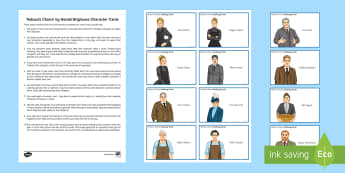 Hobson's Choice Character Cards Pack - Hobson's Choice