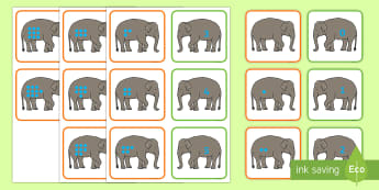Thailand Songkran Festival 13th April Matching Cards - Thailand, Songkran, Festival, 13th April, number matching, matching cards, number recognition, count