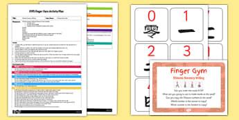 EYFS Chinese Sensory Writing Finger Gym Plan and Resource Pack - eyfs, chinese, sensory, writing, finger gym, plan, resource pack