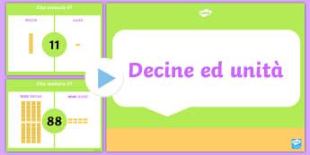 Valore Posizionale Esercitazione Presentazione Powerpoint - valore, posizionale, presentazione, powerpoint, esercizi, eserictazione, italiano, italian, material