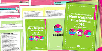 2014 Curriculum Cards KS2 Core And Foundation Subjects - KS2