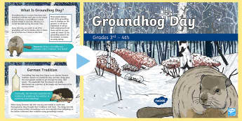 Groundhog Day PowerPoint Grades 3 & 4 PowerPoint