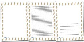 Surfboard Portrait Page Borders- Portrait Page Borders - Page border, border, writing template, writing aid, writing frame, a4 border, template, templates, landscape