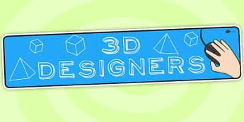 3D Designers IPC Topic Display Banner - ipc, banner, 3d, display