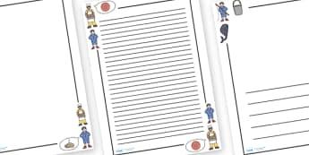 Simple Simon Page Borders - Simple Simon, page border, border, writing template, frame, nursery rhyme, rhyme, rhyming, nursery rhyme story, nursery rhymes, Simple Simon resources