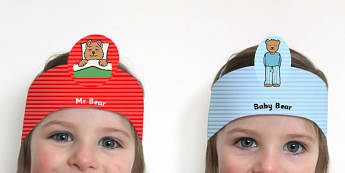 Peace at Last Role Play Headbands - roleplay, props, story book