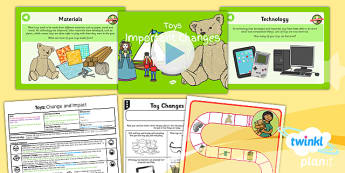 PlanIt - History KS1 - Toys Lesson 5: Important Changes Lesson Pack