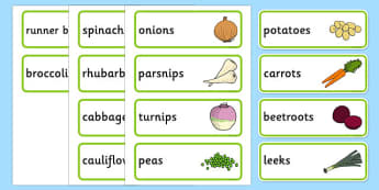 Vegetable Patch Signs and Labels