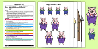 EYFS The Three Little Pigs Posting Busy Bag Plan and Resource Pack