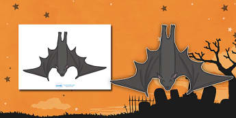 Editable Bats - bat, editable, image, poster, sign,  witch, bat, scary, Hallowe'en