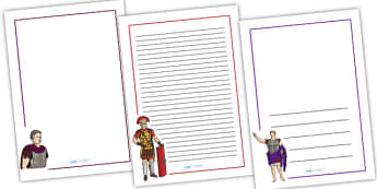 The Romans Page Borders - Romans, page borders, borders