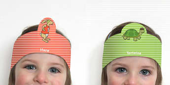 The Tortoise and The Hare Role Play Headband - roleplay, props