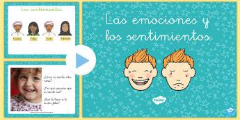 Presentación: Las emociones y los sentimientos - presentación, powerpoint, emoción, sentimiento, auto-estima, sentimientos, emociones, todo sobre m