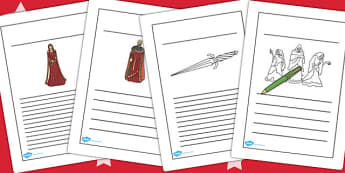 Macbeth Writing Frames - shakespeare, story, KS2 stories, write
