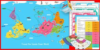 Christmas Around the World Universally Corrective Map Game - travel, world
