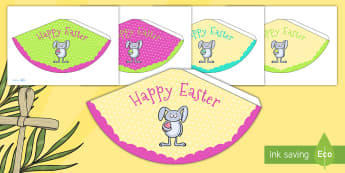 Easter Party Party Cones - easter, easter party, party cones