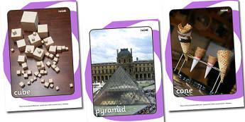 3D Shape Display Photos - 3D, shapes, photo, Display Photos, display, 3D Shape names, Shape Pictures, Shape Words