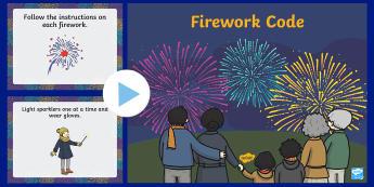 Firework Code PowerPoint