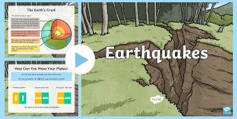 Earthquakes PowerPoint - New Zealand Natural Disasters, earthquake,  christchurch earthquake