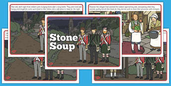 Stone Soup Story - stone soup, story, tale, traditional, stone