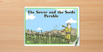 The Sower and the Seeds Parable eBook - parables, ebook, sower