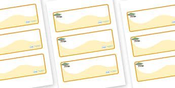 Safari Themed Editable Drawer-Peg-Name Labels (Colourful) - Themed Classroom Label Templates, Resource Labels, Name Labels, Editable Labels, Drawer Labels, Coat Peg Labels, Peg Label, KS1 Labels, Foundation Labels, Foundation Stage Labels, Teaching L