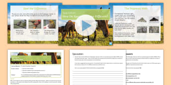 Speciation Lesson Pack  - KS4 Stand Alone Lessons, Speciation, Natural Selection, Species, Geographical Isolation, Survival of