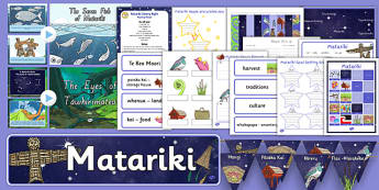 Matariki Resource Pack - nz, new zealand, matariki, resource pack, pack
