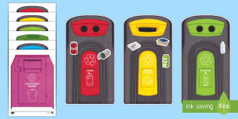 Workstation Pack: Recycling Activity Pack - Workstation Packs, TEACCH, autism, ASD, recycling, sorting, p scales, maths,