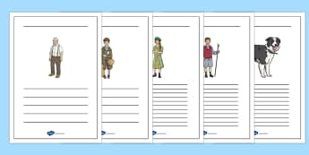Writing Frames to Support Teaching on Goodnight Mister Tom - UKS2, LKS2, negative, positive, number, zero, forwards, backwards, context, calculate