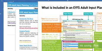EYFS Adult Input Planning and Resource Pack Overview - Whatever Next, Jill Murphy, space, lesson plans, planning, adult led, ideas, games, activities, teac