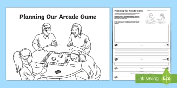 Designing Your Cardboard Arcade Game Activity Booklet - CfE Enterprise, financial education, cardboard arcade, game design, technology, employability skills