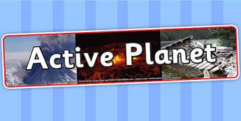 Active Planet IPC Photo Display Banner - active planet, IPC, IPC display banner, active planet IPC, active planet display banner, planet display