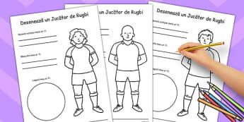 Creeaza un Tricou de Rugbi Personalizat - despre mine, Romanian