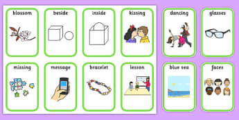 Medial 's' Playing Cards -speech sounds, phonology, articulation, speech therapy, dyspraxia
