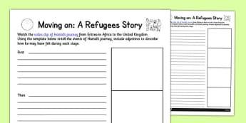 Moving On: A Refugee Story - refugee, moving on, move, story