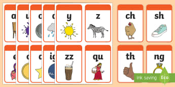 India-Specific Phase 3 Phoneme Flashcards  - phonics, letters and sounds, india, indian, phase 3, phoneme, grapheme, sound,
