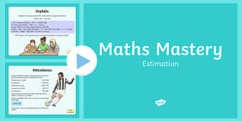 Year 6 Calculation Estimation Maths Mastery Activities
